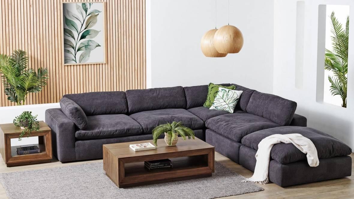 Nala 5-Piece Fabric Modular Sofa