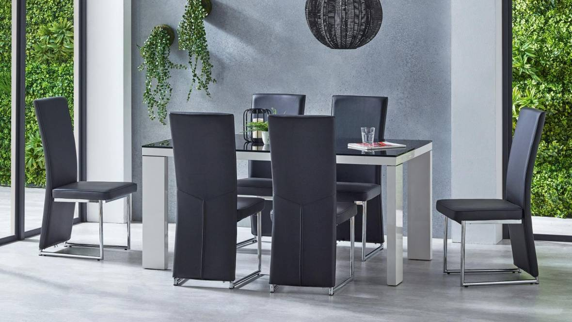 Rene 7-Piece Dining Setting