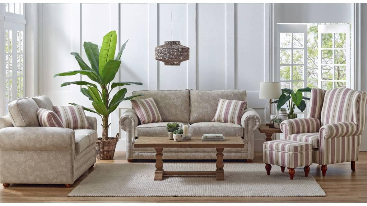 Alma Fabric Sofa