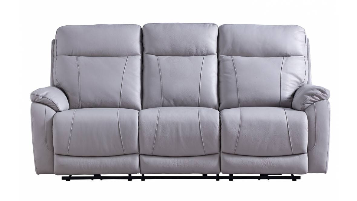 Koler Leather Powered Recliner Sofa