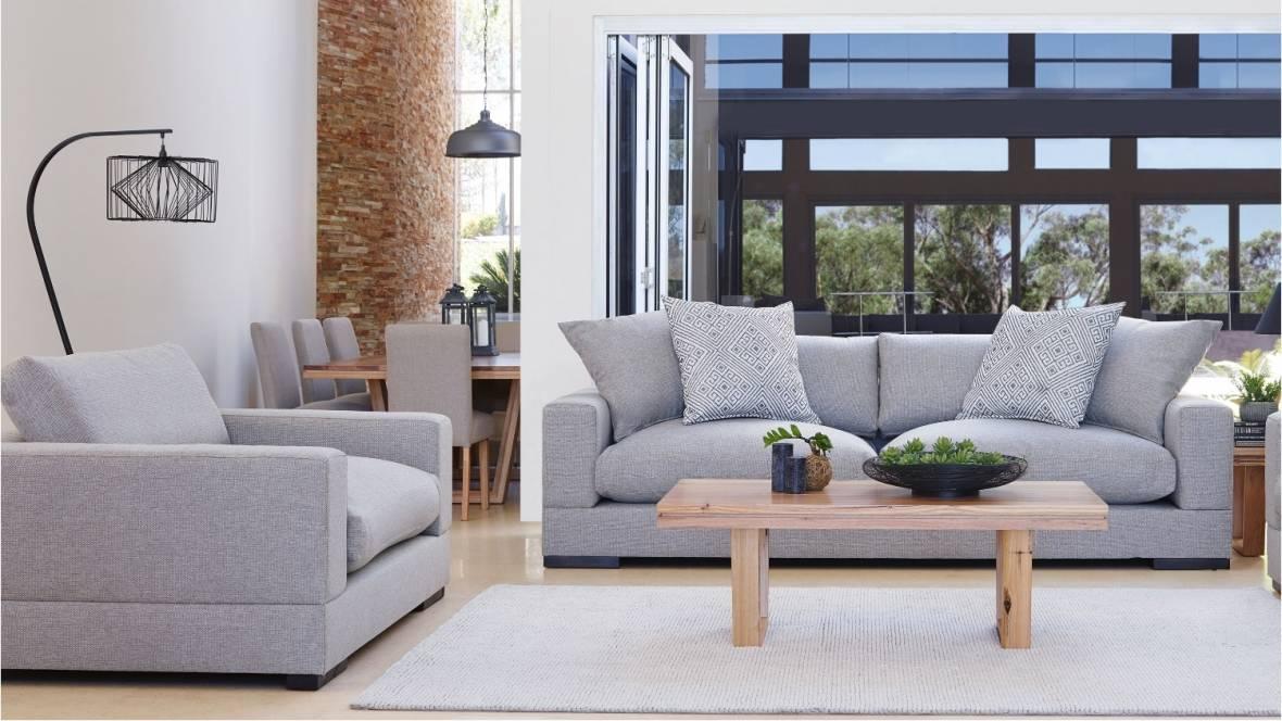 Langham Fabric Sofa