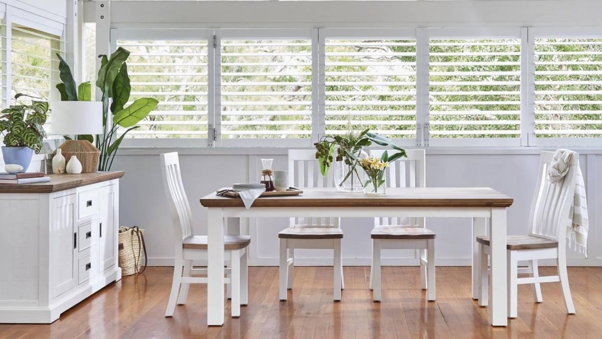 Marlow MKII 7-Piece Rectangular Dining Setting