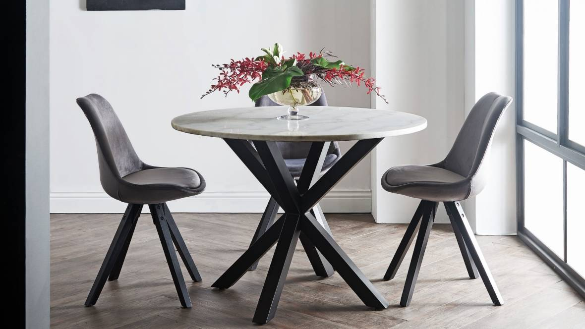 Martini Round Dining Table