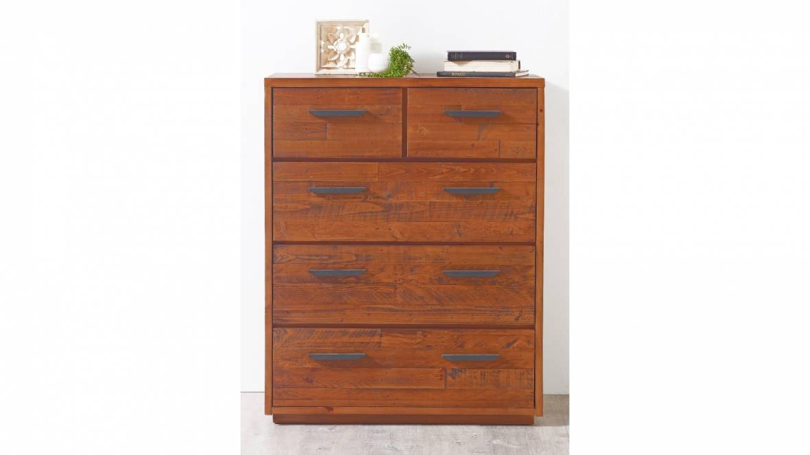 Fleet 5-Drawer Tallboy