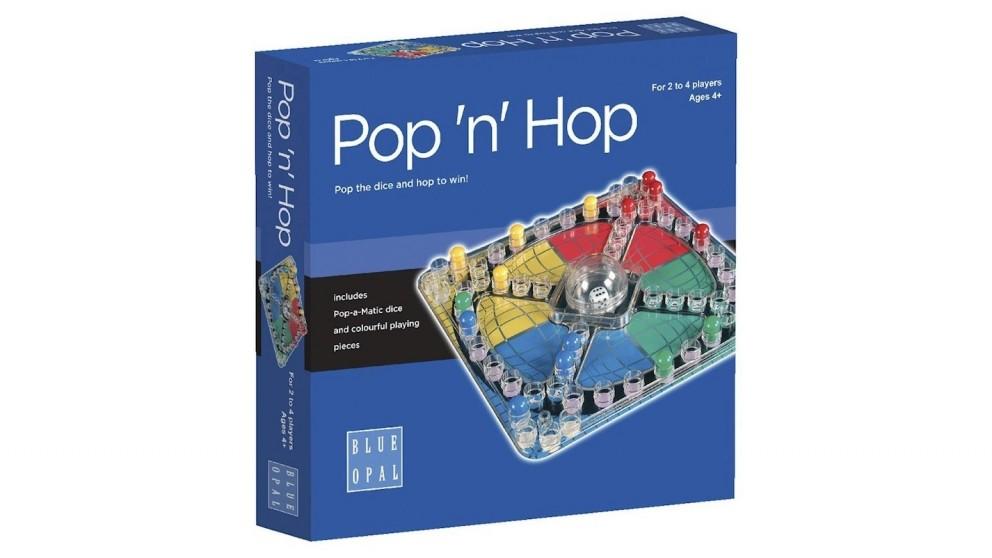 Blue Opal - Pop 'n' Hop Game