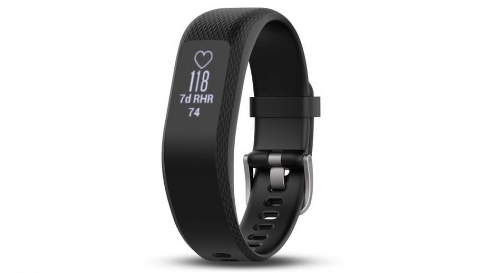Garmin Vivosmart 3 Large Activity Tracker - Black