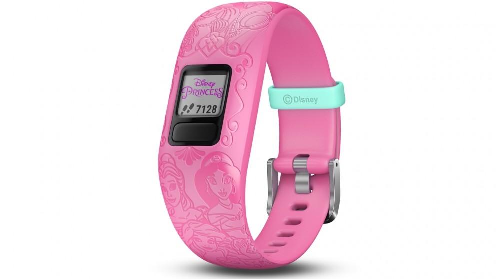 Garmin Disney Princess Vivofit Jr 2 Adjustable Activity Tracker - Pink