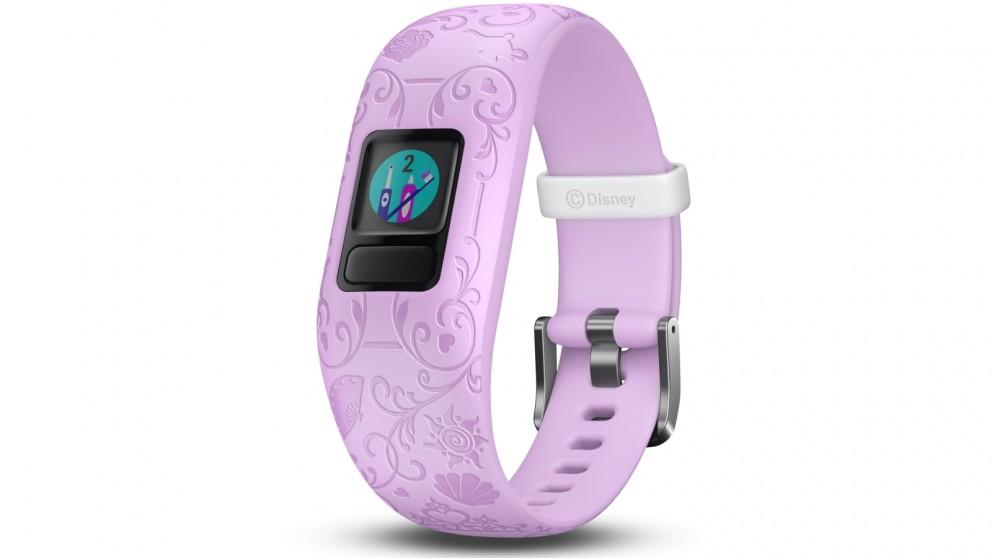 Garmin Disney Princess Vivofit Jr 2 Adjustable Activity Tracker - Purple