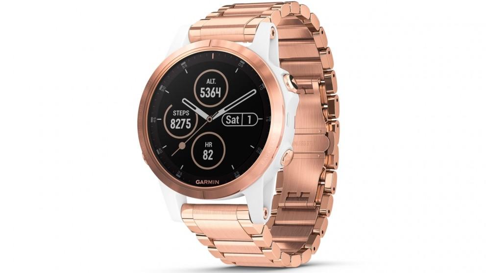 Buy Garmin Fenix 5s Plus Sapphire Edition Gps Smart Watch White
