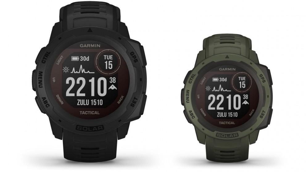 Garmin Instinct Solar Tactical Edition GPS Smart Watch