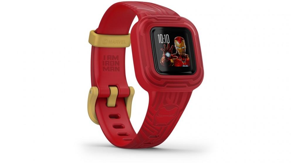 Garmin Vivofit Jr 3 Marvel Iron Man Kids Fitness Tracker