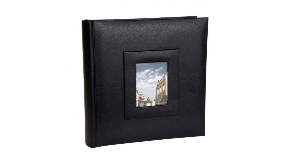 Platinum Concerto Photo Album fits 500 6x4-inch Photos - Black