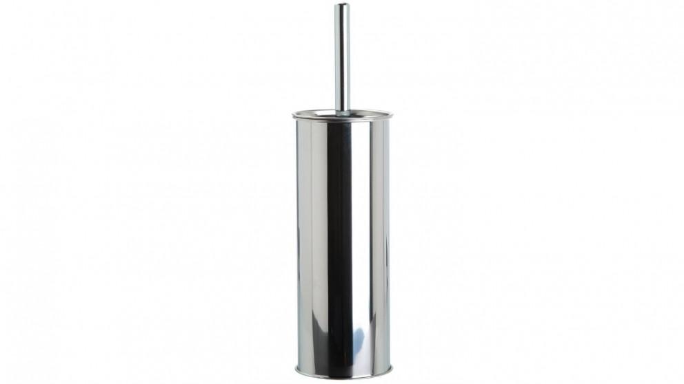 Linen House Toilet Brush Holder - Stainless Steel