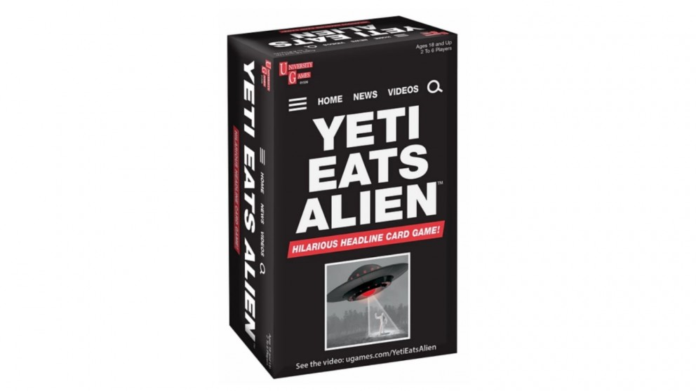 Yeti Eats Alien