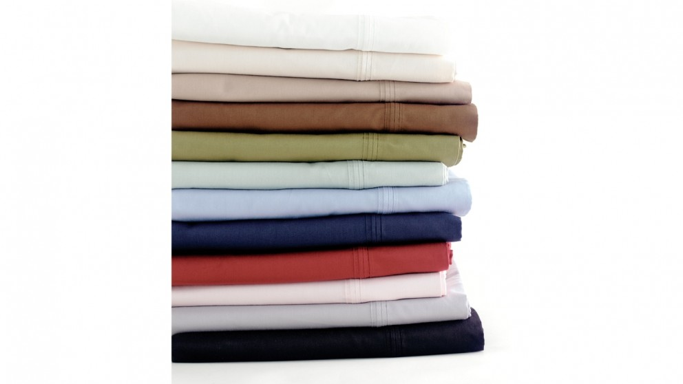 Linen House 300TC Sage Fitted Sheet