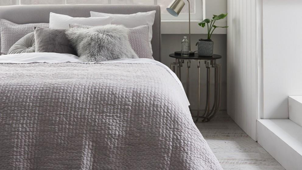 Mireya Pale Grey European Pillowcase