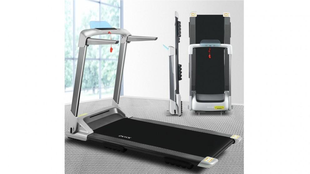 OVICX Electric Treadmill Foldable - Silver