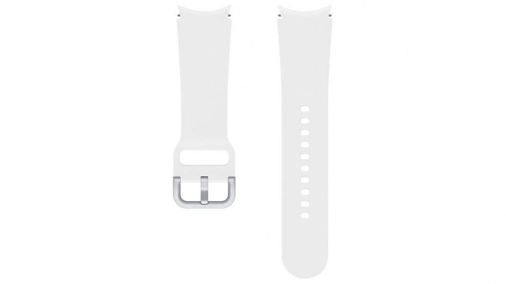 Samsung Galaxy Watch4 20mm Small/Medium Sport Band - White