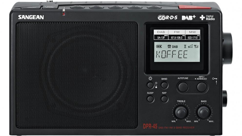 Buy Sangean DPR-45 DAB+ FM/AM Portable Receiver Radio | Harvey Norman AU