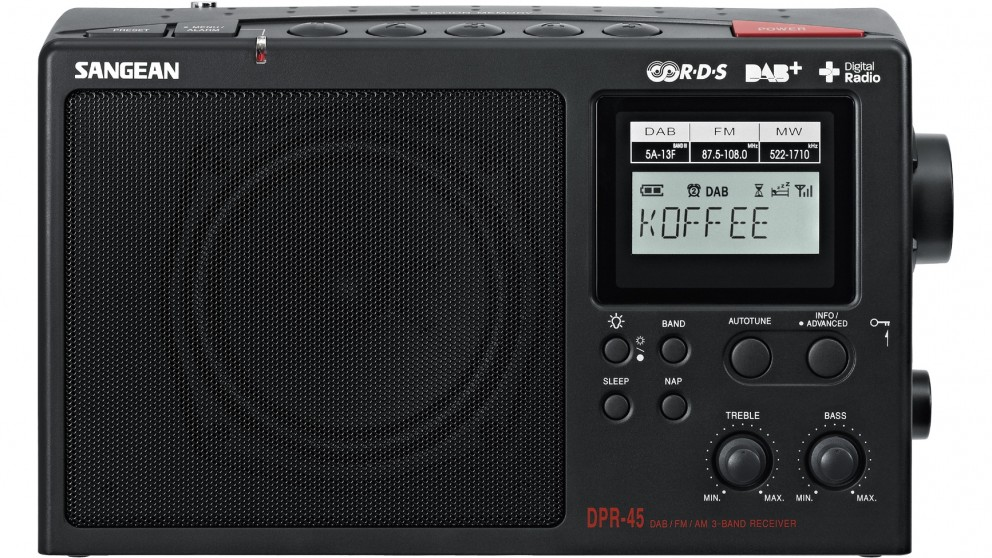 Sangean DPR-45 DAB+ FM/AM Portable Receiver Radio