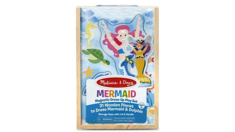 Melissa & Doug Mermaid Magnetic Dress-Up Set