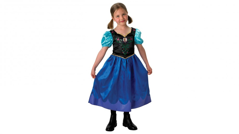Disney Anna Frozen Classic Costume 4-6 years old