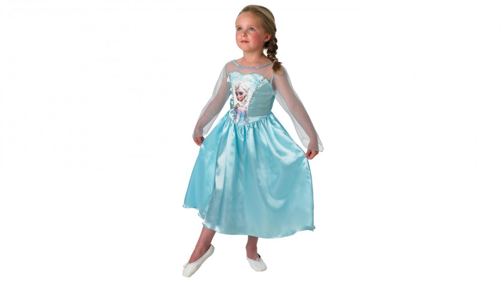 Disney Elsa Frozen Classic Costume 4-6 years old