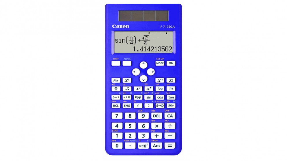 Canon Scientific Calculator - Blue