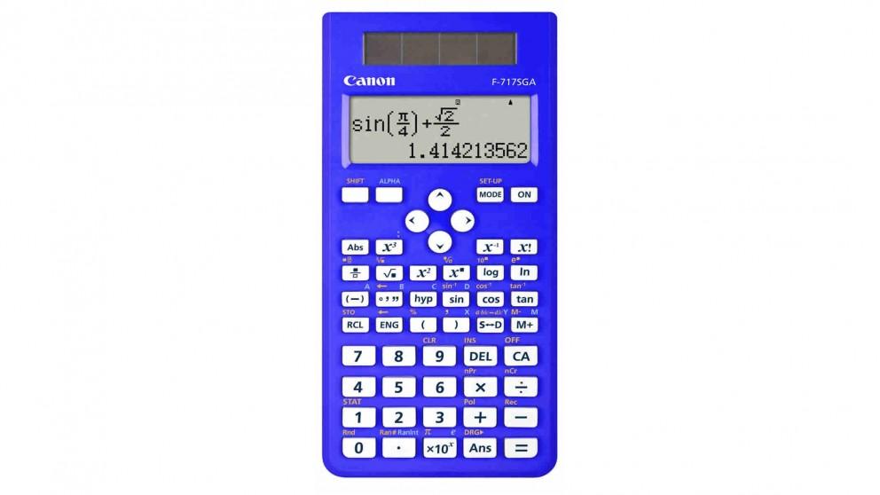 Canon Scientific Calculator - Blue
