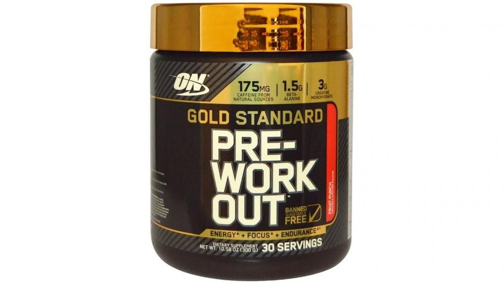 Optimum Nutrition Gold Standard Pre Workout Fruit Punch - 30 Serve