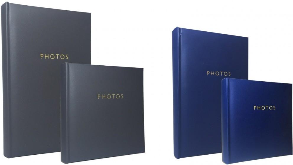 Platinum Havana Combo Photo Albums fits 200 & 300 6x4-inch Photos