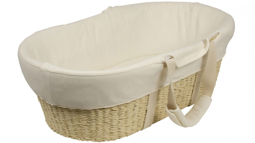 Bebe Care Moses Baby Basket - Cream