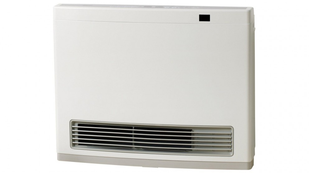 Rinnai Avenger 25 Unflued Natural Gas Convector Heater with 3m Hose - White