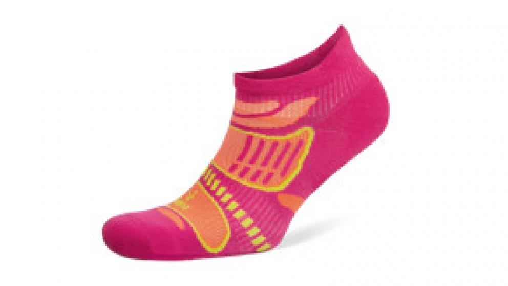 Balega Ultralight No Show Pink/Tangerine Socks - Medium