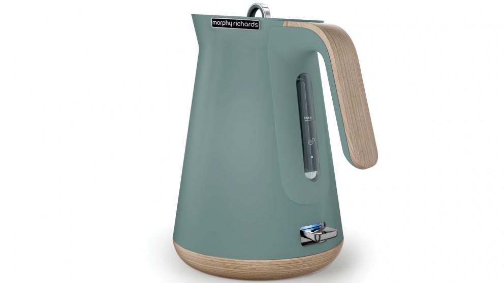 Morphy richards scandi 1 5l kettle teal kettles - Teal kitchen appliances ...