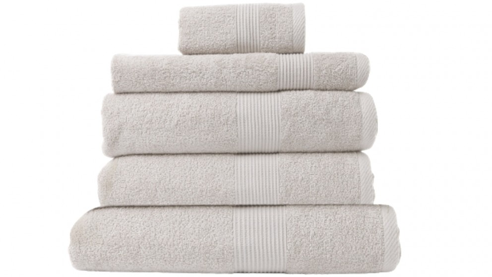Royal Comfort Cotton Bamboo 5 Piece Towels - Seaholly