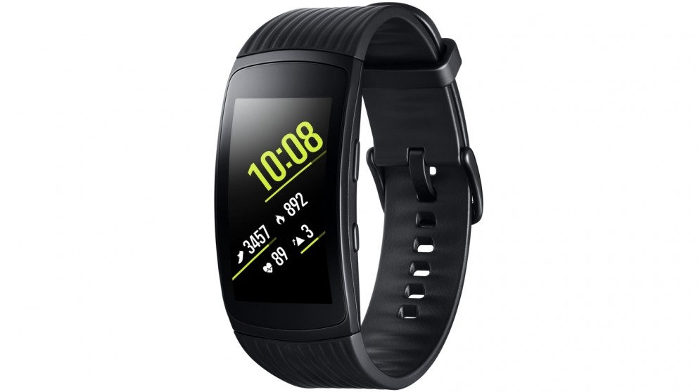 Samsung Gear Fit2 Pro (OPTUS VARIANT) Large Bluetooth Fitness Tracker - Black