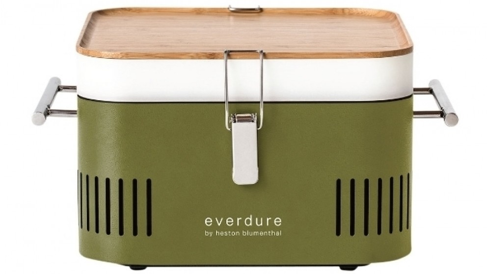 Everdure by Heston Blumenthal CUBE Charcoal BBQ - Khaki
