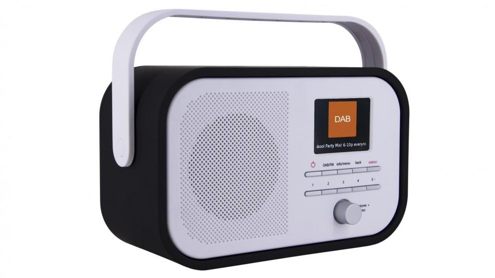 Akai Portable DAB/DAB+/FM Clock Radio