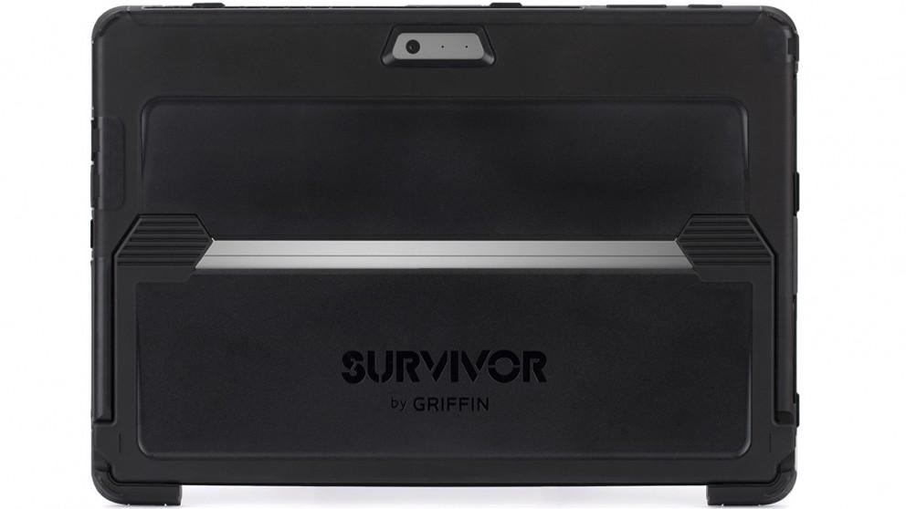 Griffin Survivor Slim Case for Microsoft Surface Pro 2017 - Black