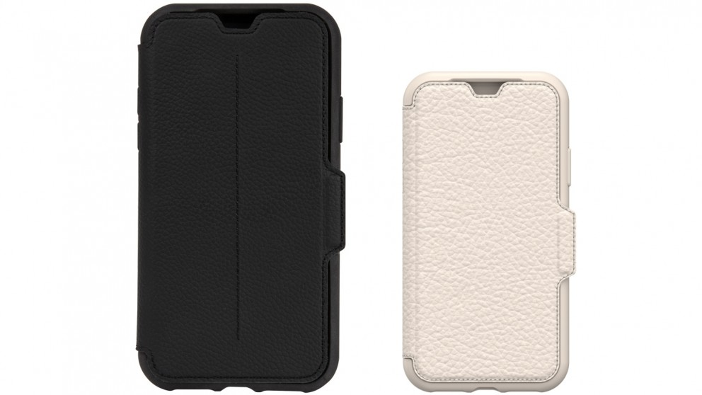 check out cfe96 7f554 OtterBox Strada Case for iPhone X
