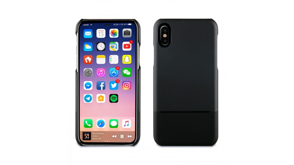 Muvit Skin Case for IPhone X - Pink