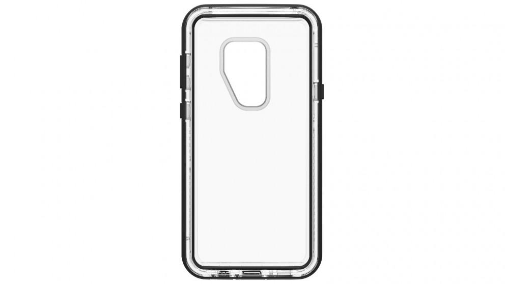 the best attitude 9f3e2 08ca8 Lifeproof Next Samsung Galaxy S9+ Case - Black/Crystal