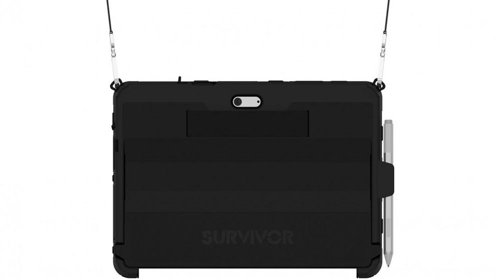 Griffin Survivor Slim Case for Microsoft Surface Go with Shoulder Strap