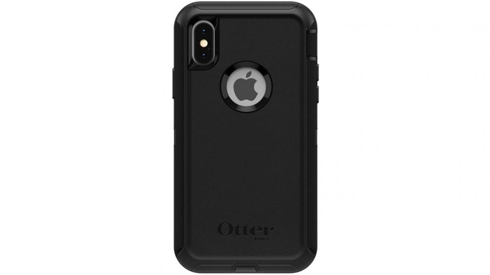 meet c5726 92fde OtterBox Defender Case iPhone XS - Black