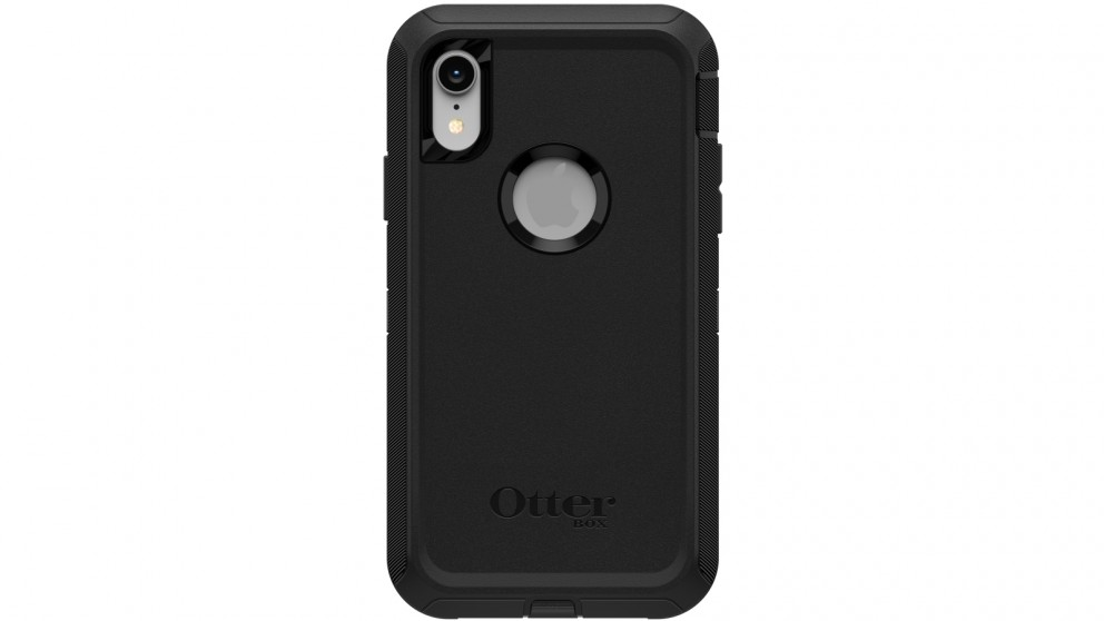 separation shoes 72841 d8be7 OtterBox Defender Case iPhone XR - Black
