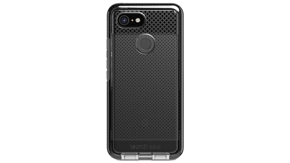 buy popular 295fa cedda Tech21 Evo Check Case for Google Pixel 3 - Smokey Black
