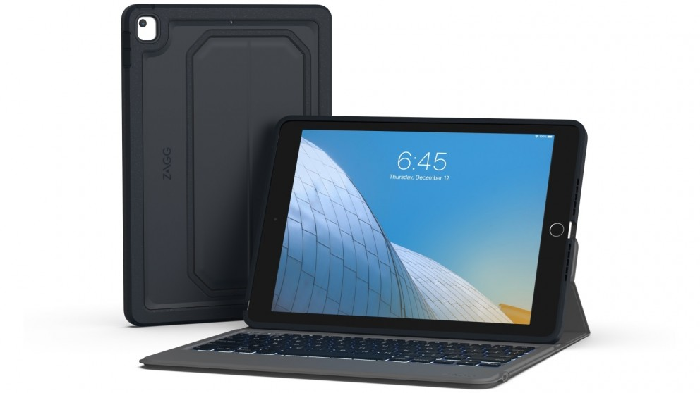 Zagg Rugged Messenger Wireless Keyboard Cover for iPad 7th Generation