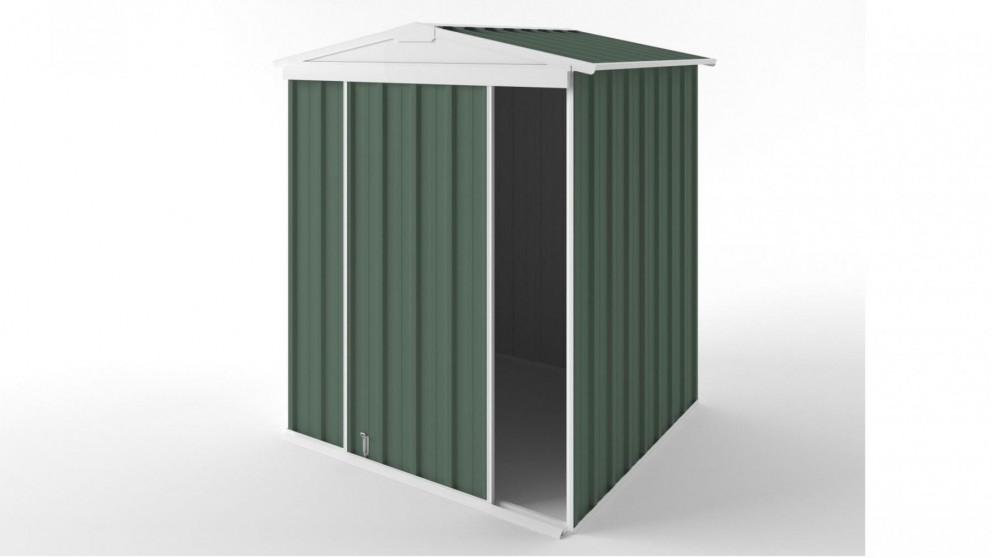 EasyShed S1515 Gable Slider Roof Garden Shed - Rivergum