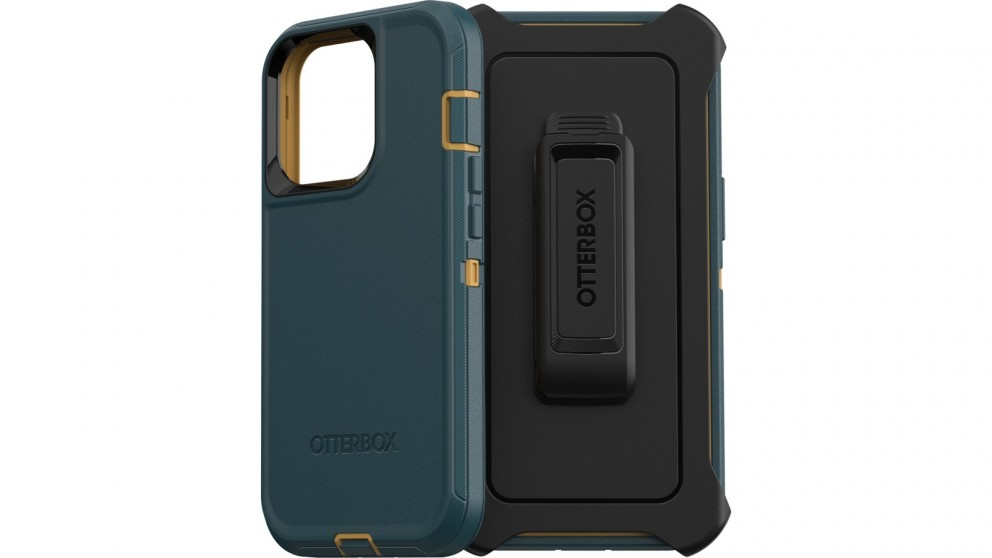 OtterBox Defender Case for iPhone 13 Pro - Green